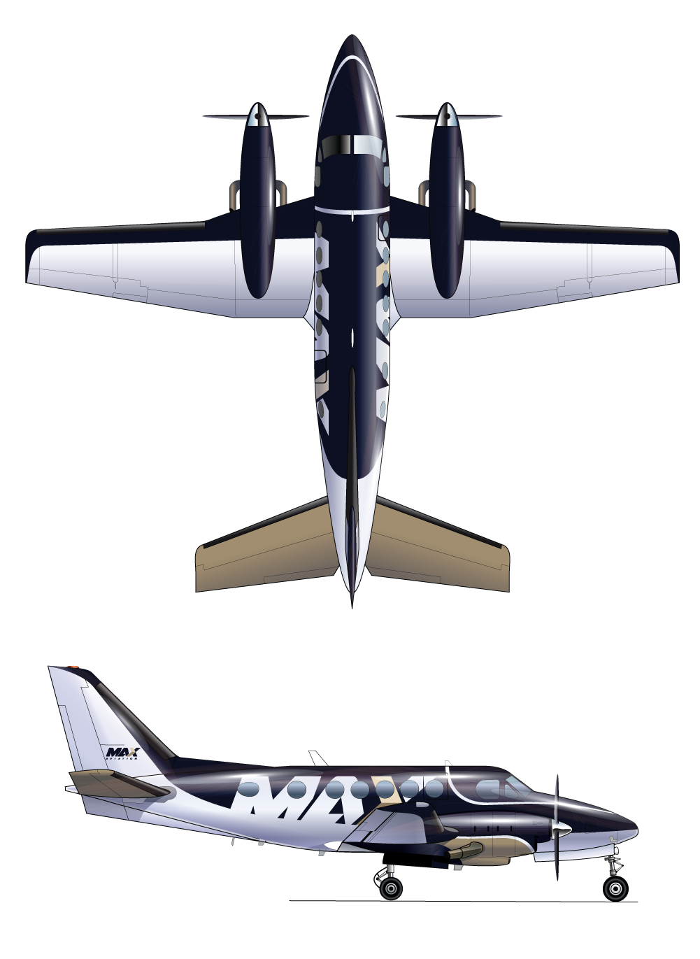 Beechcraft King Air B-100